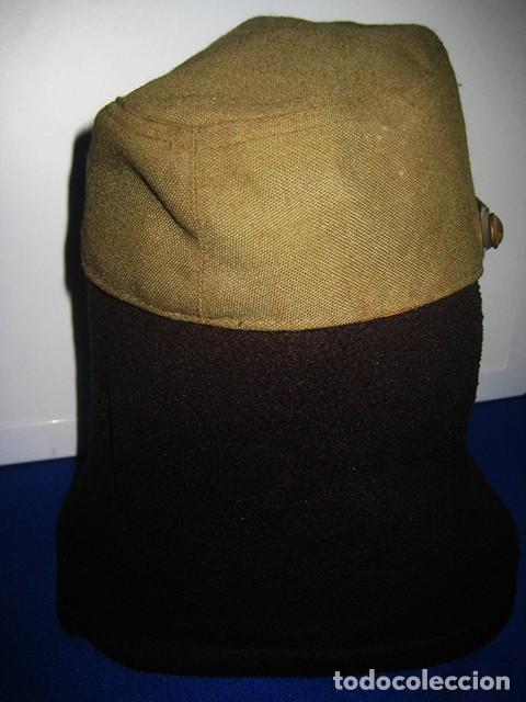 Militaria: Gorra de paseo Uniforme de Diario. Mod. R-67. Teniente del Ejército de Tierra. Talla 55. Año 1976-80 - Foto 5 - 183740446