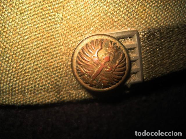 Militaria: Gorra de paseo Uniforme de Diario. Mod. R-67. Teniente del Ejército de Tierra. Talla 55. Año 1976-80 - Foto 7 - 183740446
