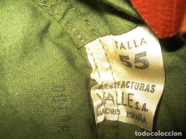 Militaria: Gorra de paseo Uniforme de Diario. Mod. R-67. Teniente del Ejército de Tierra. Talla 55. Año 1976-80 - Foto 8 - 183740446
