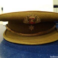 Militaria: GORRA DE PLATO MILITAR. Lote 183770006