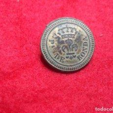 Militaria: BOTON MILICIAS PROVINCIALES RONDA. Lote 183855323