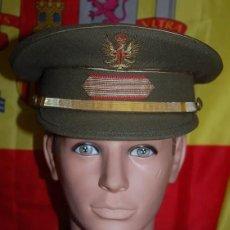 Militaria: GORRA DE PLATO EJERCITO DE TIERRA GRADUACION SARGENTO EPOCA JUAN CARLOS I. Lote 184168011