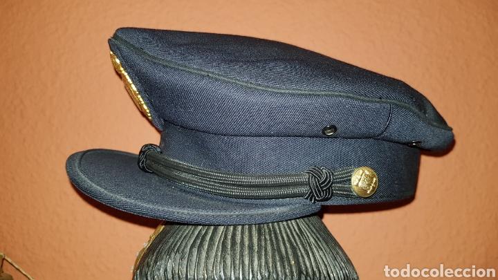 Militaria: ANTIGUA GORRA POLICIAL CUERPO NACIONAL DE POLICÍA ESCALA BÁSICA TALLA 56 EXCELENTE ESTADO - Foto 5 - 184473245