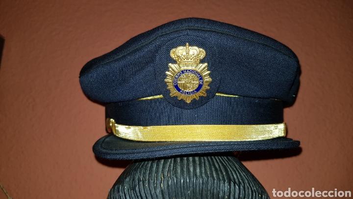 Militaria: GORRA DE PLATO CUERPO NACIONAL DE POLICÍA SUBINSPECTOR - Foto 2 - 184484231