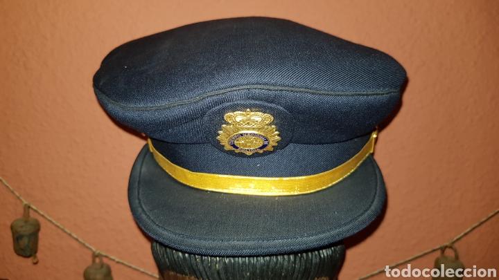 Militaria: GORRA DE PLATO CUERPO NACIONAL DE POLICÍA SUBINSPECTOR - Foto 3 - 184484231