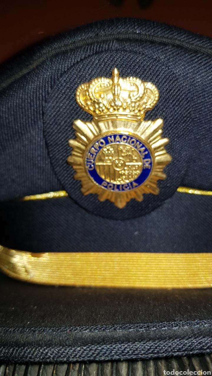 Militaria: GORRA DE PLATO CUERPO NACIONAL DE POLICÍA SUBINSPECTOR - Foto 4 - 184484231