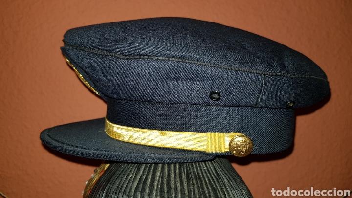 Militaria: GORRA DE PLATO CUERPO NACIONAL DE POLICÍA SUBINSPECTOR - Foto 5 - 184484231