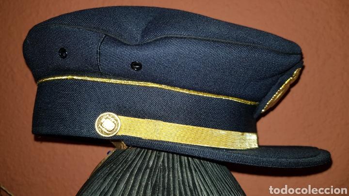 Militaria: GORRA DE PLATO CUERPO NACIONAL DE POLICÍA SUBINSPECTOR - Foto 6 - 184484231