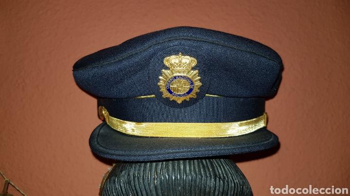 GORRA DE PLATO CUERPO NACIONAL DE POLICÍA SUBINSPECTOR (Militar - Boinas y Gorras )