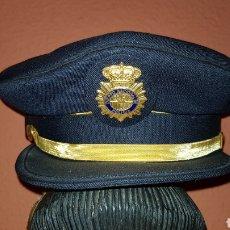 Militaria: GORRA DE PLATO CUERPO NACIONAL DE POLICÍA SUBINSPECTOR. Lote 184484231