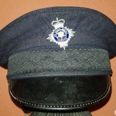 Militaria: GRAN BRETAÑA GORRA DE PLATO HM PRISON SERVICE GIBRALTAR. Lote 184485948
