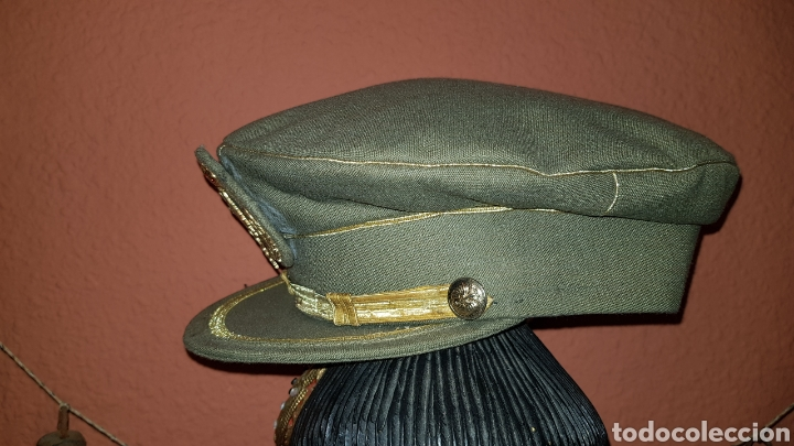 Militaria: GORRA PLATO DEL EJERCITO DE TIERRA ESCARAPELA CON LAURELES - Foto 3 - 184487118