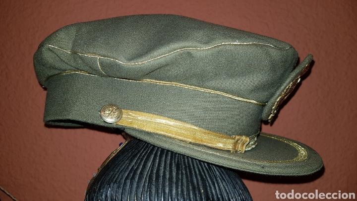 Militaria: GORRA PLATO DEL EJERCITO DE TIERRA ESCARAPELA CON LAURELES - Foto 4 - 184487118