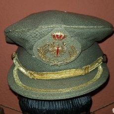 Militaria: GORRA PLATO DEL EJERCITO DE TIERRA ESCARAPELA CON LAURELES. Lote 184487118