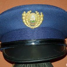 Militaria: ANTIGUA GORRA DE PLATO PLATO POLICÍA RUMANIA DIFÍCIL. Lote 184488053