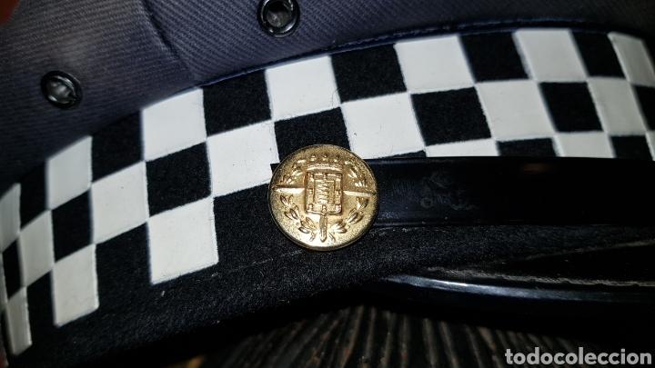 Militaria: ANTIGUA GORRA DE PLATO DE POLICÍA LOCAL - Foto 5 - 184488926