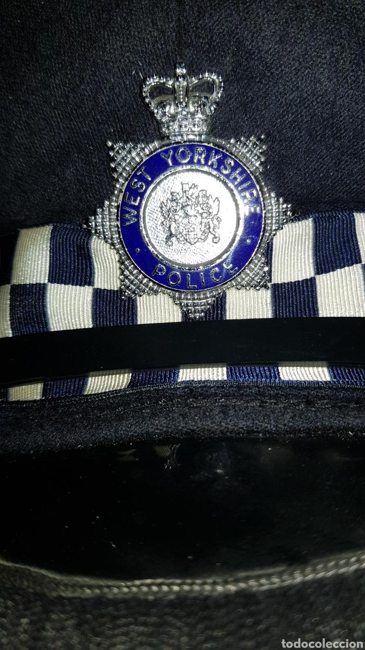 Militaria: ANTIGUA GORRA DE PLATO POLICÍA REINO UNIDO WEST YORKSHIRE POLICE GREAT BRITAIN - Foto 2 - 184489378