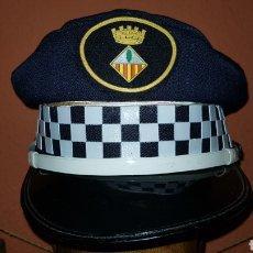 Militaria: GORRA DE PLATO POLICÍA LOCAL. Lote 184489575