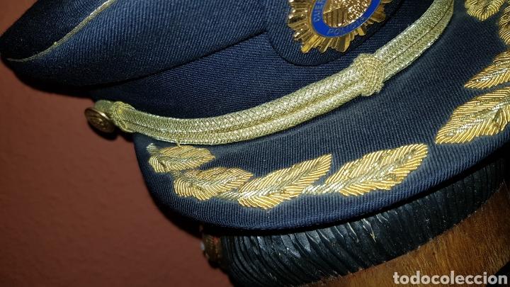 Militaria: GORRA DE PLATO COMISARIO CUERPO NACIONAL DE POLICÍA - Foto 4 - 184490981