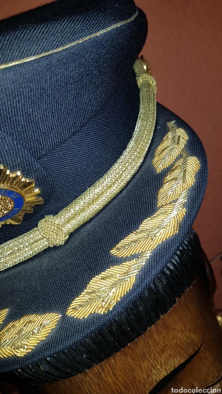 Militaria: GORRA DE PLATO COMISARIO CUERPO NACIONAL DE POLICÍA - Foto 5 - 184490981