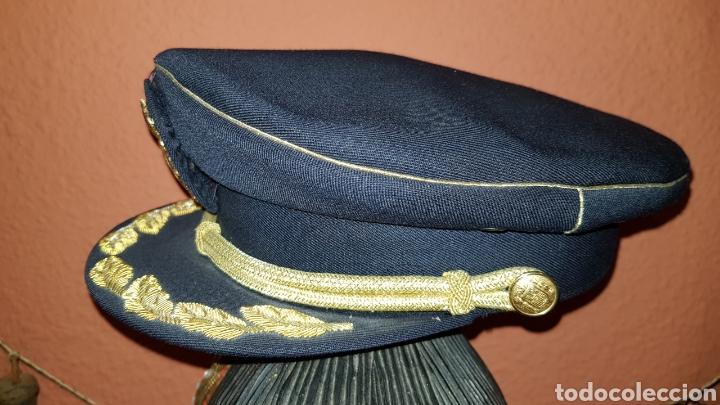 Militaria: GORRA DE PLATO COMISARIO CUERPO NACIONAL DE POLICÍA - Foto 7 - 184490981