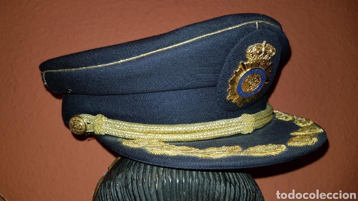 Militaria: GORRA DE PLATO COMISARIO CUERPO NACIONAL DE POLICÍA - Foto 13 - 184490981