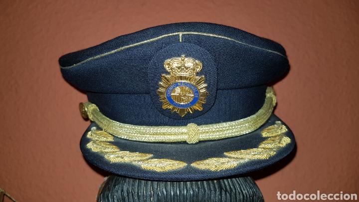 GORRA DE PLATO COMISARIO CUERPO NACIONAL DE POLICÍA (Militar - Boinas y Gorras )