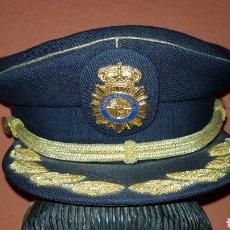 Militaria: GORRA DE PLATO COMISARIO CUERPO NACIONAL DE POLICÍA. Lote 184490981