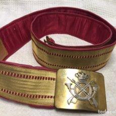 Militaria: CINTURON GALA ALFONSO XIII. Lote 184577481