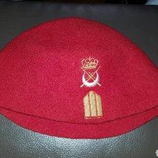 Militaria: GORRO TARBUSH ORIGINAL BRIGADA REGULARES MELILLA. Lote 184586678