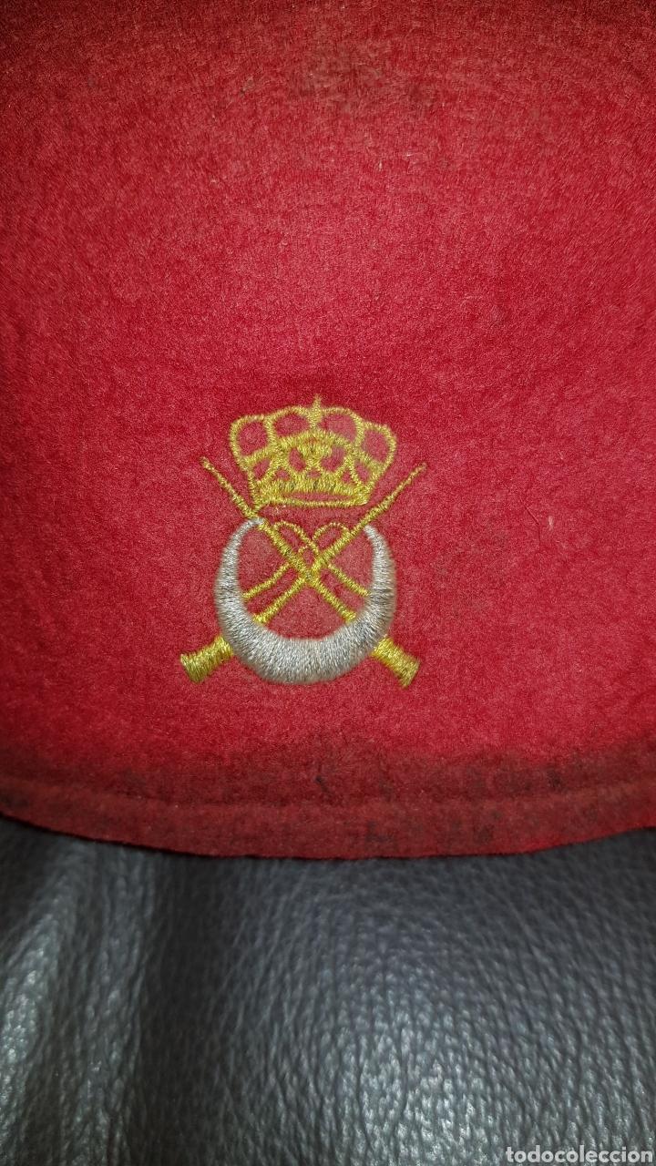 Militaria: GORRO TARBUSH ORIGINAL DE REGULARES MELILLA - Foto 3 - 184586725