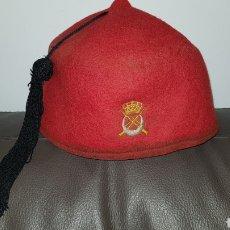 Militaria: GORRO TARBUSH ORIGINAL DE REGULARES MELILLA. Lote 184586725