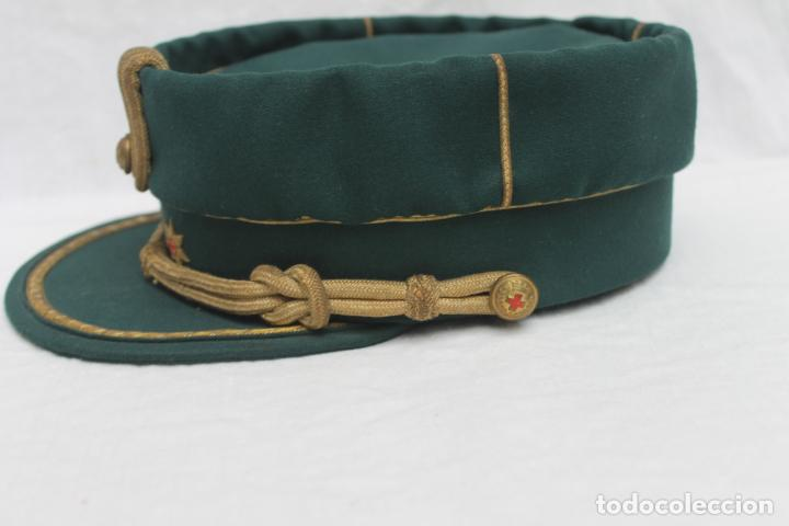 Militaria: ANTIGUA GORRA TERESIANA TENIENTE CORONEL CRUZ ROJA - Foto 5 - 184904045