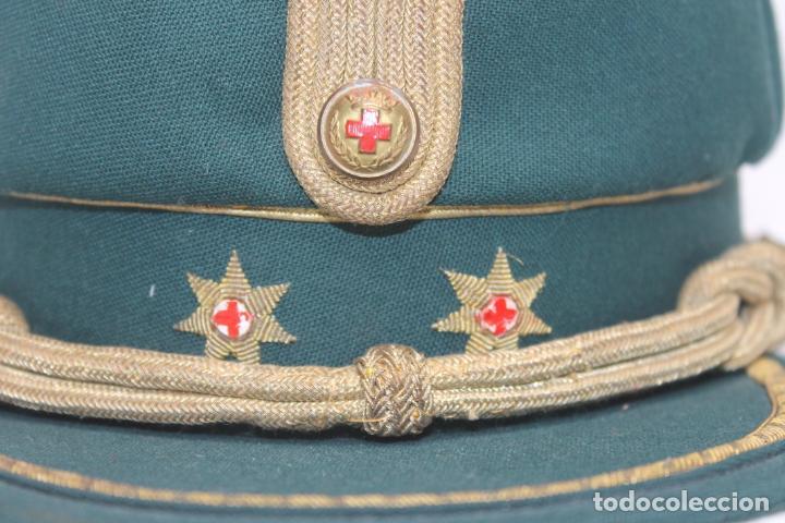 ANTIGUA GORRA TERESIANA TENIENTE CORONEL CRUZ ROJA (Militar - Boinas y Gorras )
