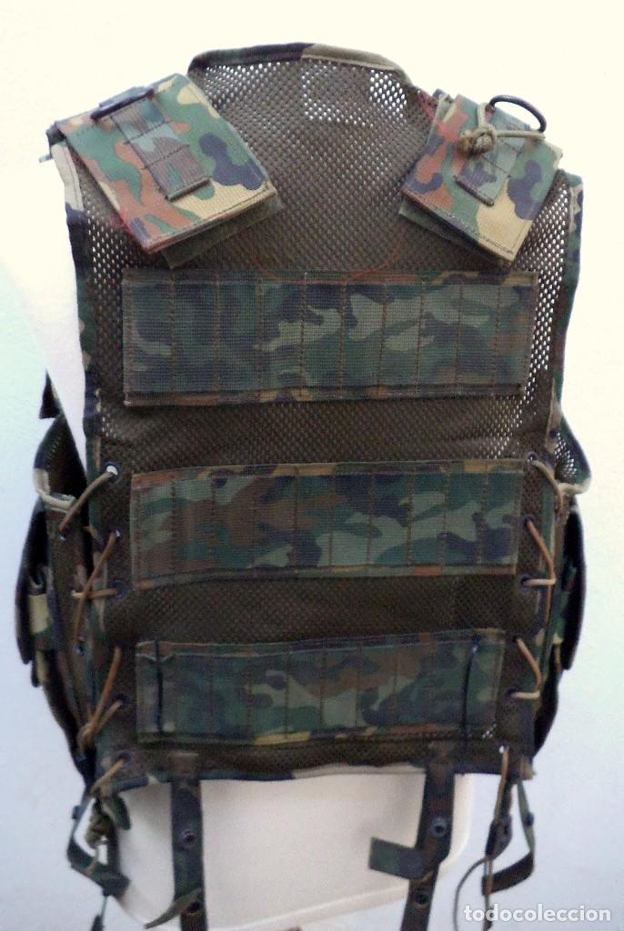 Militaria: CHALECO TACTICO BRIMAR ALTUS -INFANTERÍA DE MARINA ESPAÑOLA. PRIMER MODELO. - Foto 3 - 185725258