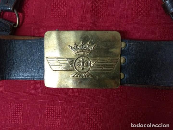 Militaria: Cinturon oficial aviacion española. Años 40 - Foto 2 - 185925721