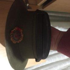 Militaria: GORRA DE PLATO SANITARIO CRUZ ROJA. Lote 186013772