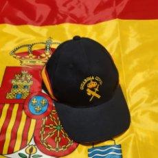 Militaria: GORRA GUARDIA CIVIL BORDADA. Lote 186049983