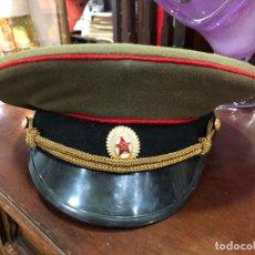 Militaria: GORRA MILITAR RUSA - MEDIDA DE CABEZA 17,5X18 CM. Lote 186325803