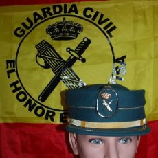 Militaria: GORRA TERESIANA GUARDIA CIVIL TALLA 57 (DESCATALOGADA) Nº 004. Lote 186431891