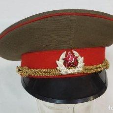 Militaria: GORRA MILITAR SOVIÉTICA, AÑOS 80. Lote 188746772