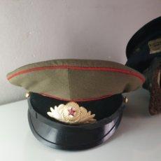 Militaria: GORRA DE OFFICIAL RUSO - SOVIETICO.. Lote 189411518