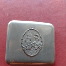 Militaria: HEBILLA POLICIA MUNICIPAL DE BILBAO AÑOS 40. Lote 189559330