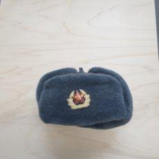Militaria: GORRA DE INVIERNO SOLDADO RUSO -SOVIETICO.. Lote 189825005