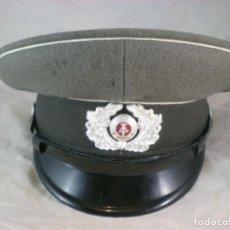 Militaria: GORRA EJERCITO ALEMAN RDA - NVA - T54. Lote 190209395