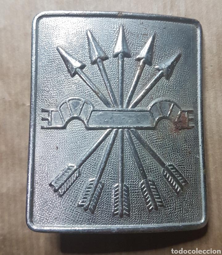 HEBILLA FALANGE GUERRA CIVIL (Militar - Cinturones y Hebillas )