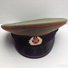 Militaria: GORRA MILITAR RUSA - MIRAR FOTOS ADICIONALES. Lote 190864186