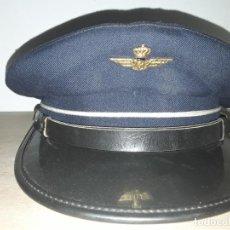 Militaria: ANTIGUA GORRA DE PILOTO DE IBERIA. Lote 191219903