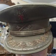 Militaria: GORRA GENERAL DE DIVISION DE DON ALFONSO ARMADA. Lote 191241025