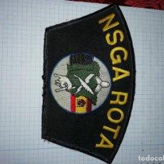 Militaria: PARTE DE TELA BORDADO NSGA ROTA. Lote 191333468